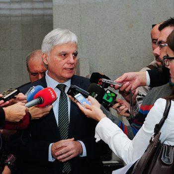 Con José Miguel Pérez ex Vicepresidente del Gobierno de Canarias.